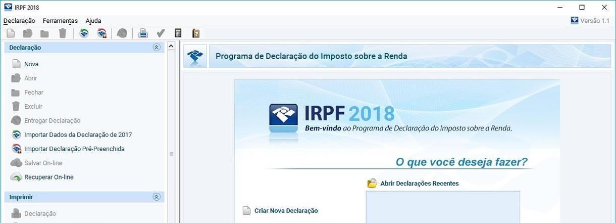 fazer download do programa irpf 2019 receita federal
